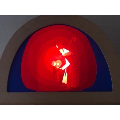 Transparant Sinterklaas
